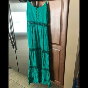 Maxi spaghetti strap dress size 2 Jack BB Dakota